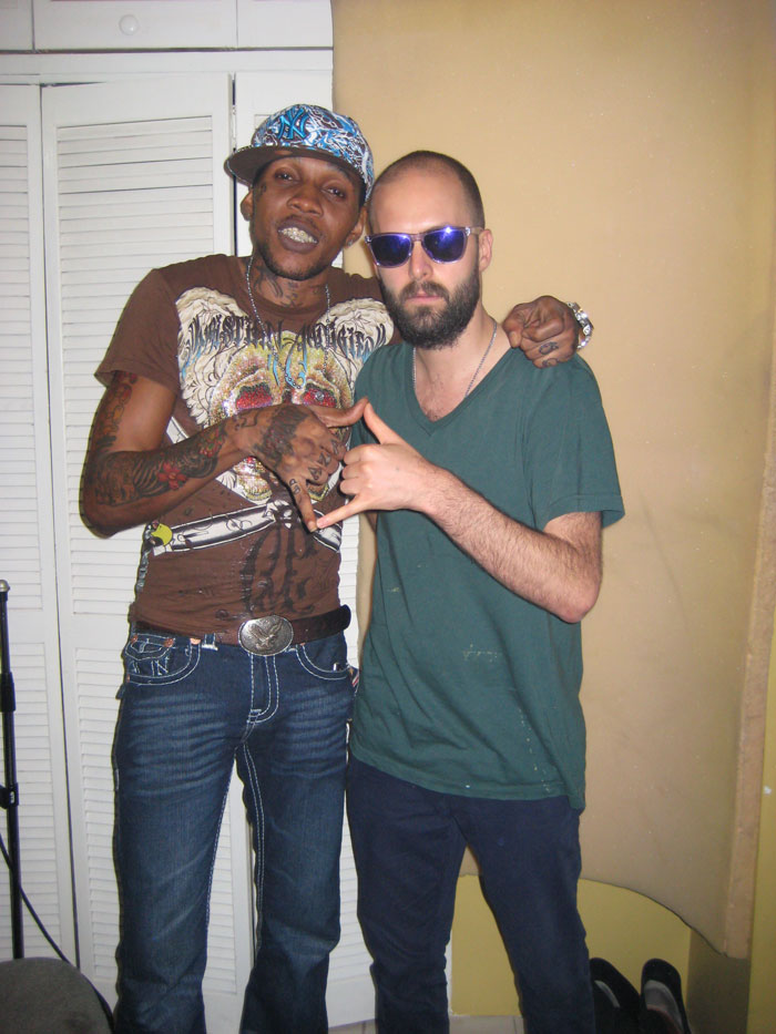 Vybz Kartel and Dre Skull