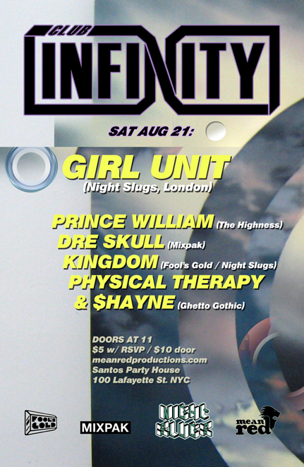 Club Infinity Flyer