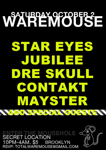 Waremouse Flyer