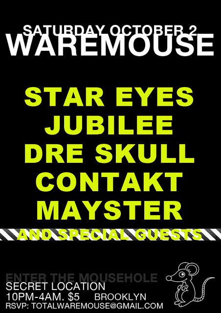 Waremouse Flyer