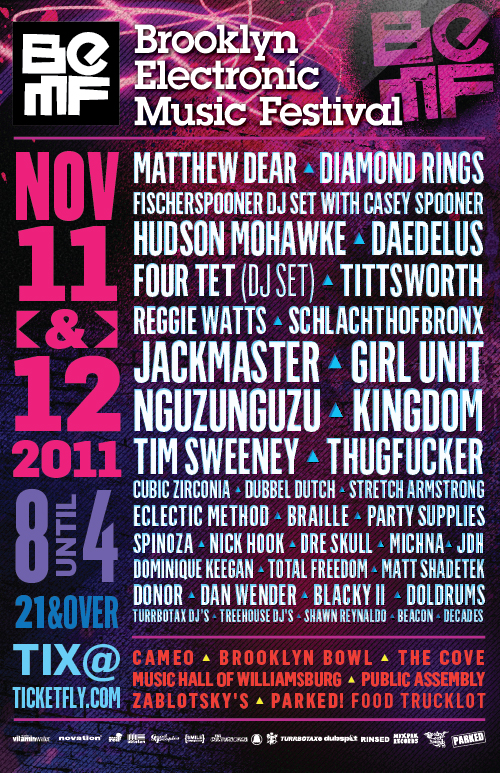 BEMF 2011 Flyer