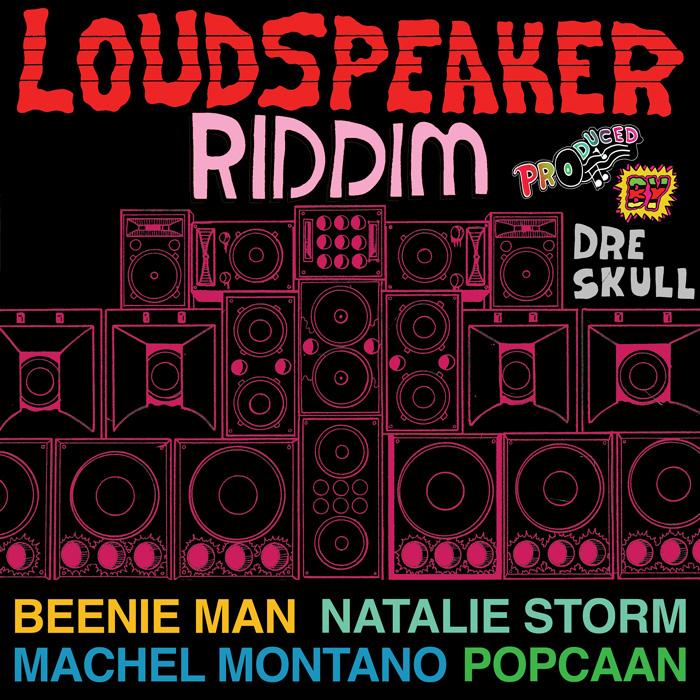 Loudspeaker Riddim Cover Art