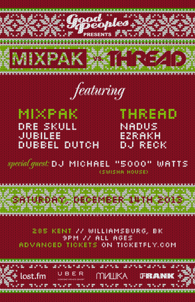 Mixpak Thread Good Peoples