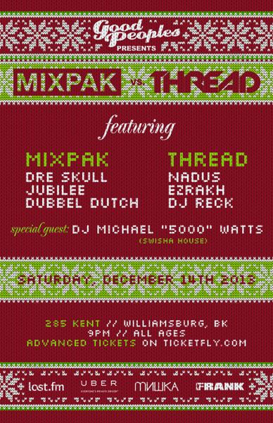 Mixpak Thread Good Peoples