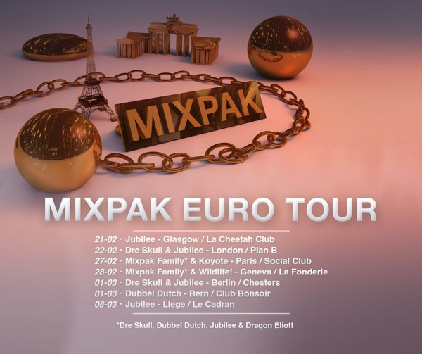 Mixpak tour